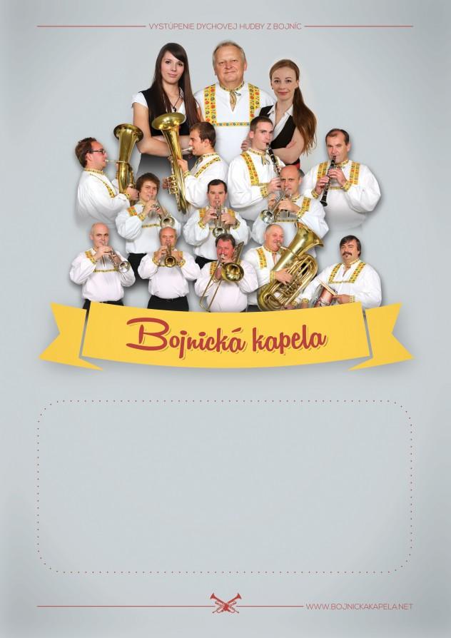 Bojnická kapela - plagát A3